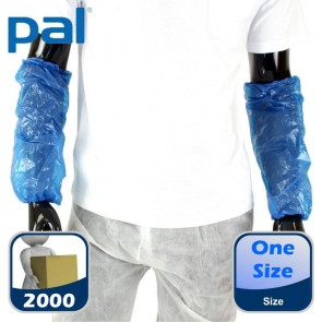 Case of PAL Disposable Oversleeves - Blue (20 x 100)