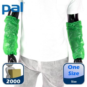 Case of PAL Disposable Oversleeves - Green (20 x 100)