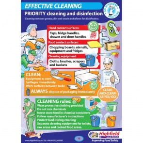 Effective Cleaning Poster