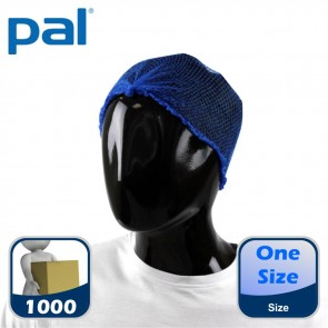 Case of PAL Heavyweight Hairnets with Detectable Clip - Blue (10 x 100)