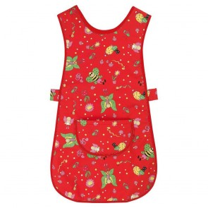 Fun Print Tabard - Red (Size M) - End of line - New