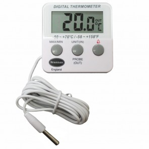 Brannan Fridge In Out Alarm Digital Thermometer