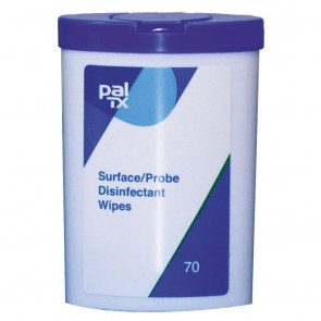 PAL Tub of 70 TX Surface/Probe Disinfectant Wipes